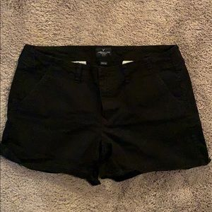 American Eagle Outfitters Black Shortie Shorts